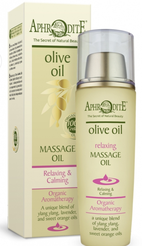 Aphrodite Relaxing & calming olie voor massage of als badolie