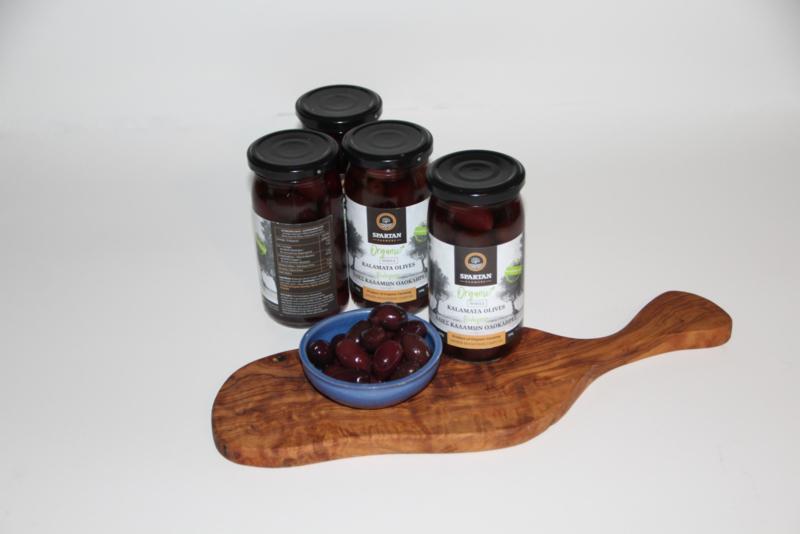 3 Handgeplukte biologische olijven