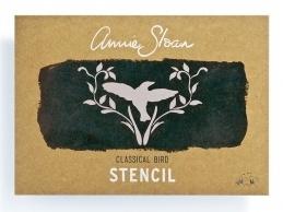 Annie Sloan Stencil - Classical Bird