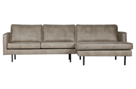 BePureHome - Rodeo chaise longue rechts elephant skin