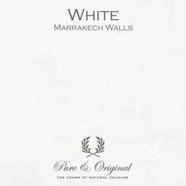 Marrakech Walls - White