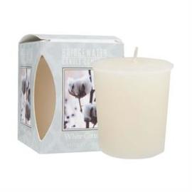 Bridgewater Candle Company - votive geurkaars - White Cotton