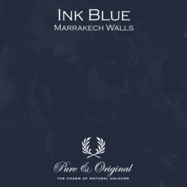 Marrakech Walls - Ink Blue