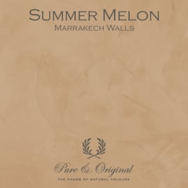 Marrakech Walls - Summer Melon