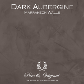 Marrakech Walls - Dark Aubergine