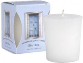 Bridgewater Candle Company - Votive geurkaars - Blue Door