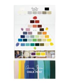 Annie Sloan Chalk Paint™ by Annie Sloan - Handgeschilderde kleurenkaart krijtverf