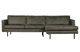 BePureHome - Rodeo chaise longue rechts army