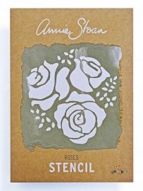 Annie Sloan Stencil - Roses
