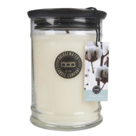 Bridgewater Candle Company - Kaars in pot 225gr - White Cotton