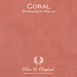 Marrakech Walls - Coral