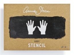 Annie Sloan Stencil - Hands