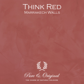 Marrakech Walls - Think Red