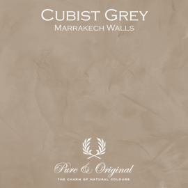 Marrakech Walls - Cubist Grey