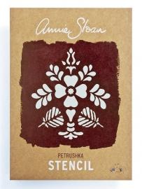Annie Sloan Stencil - Petrushka