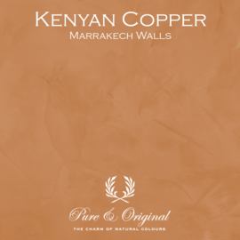 Marrakech Walls - Kenyan Copper