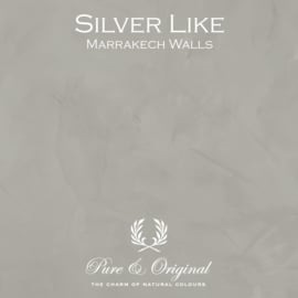 Marrakech Walls - Silver Like