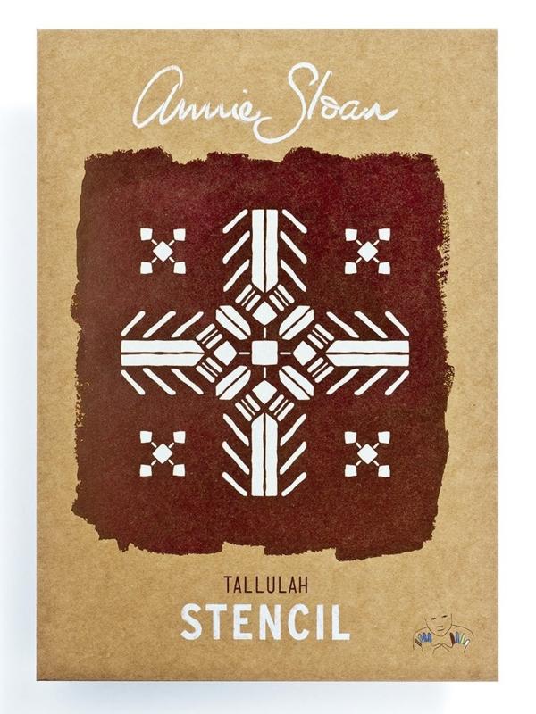 Annie Sloan Stencil - Tallulah