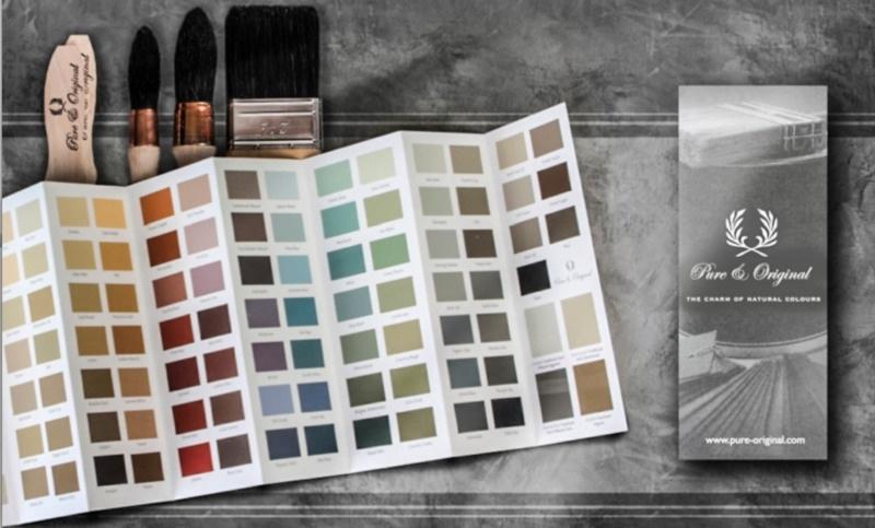 Pure&original - Kleurenkaart 2019