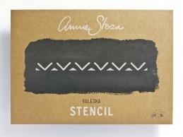 Annie Sloan Stencil - Valeska