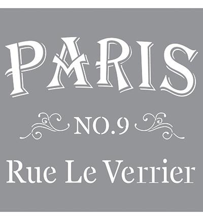 Stencil / Sjabloon - Paris