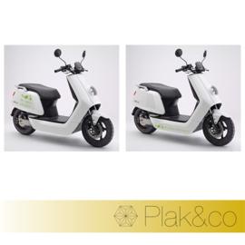 Wij Rijden Groen scootersticker