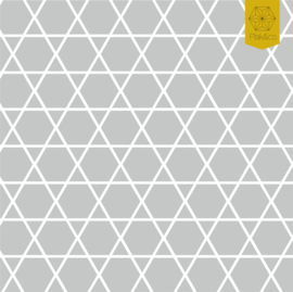 Raamfolie Zeshoek En Driehoek