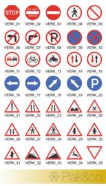 Verkeersstickers