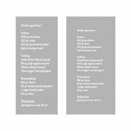 Dudok Appeltaartrecept Etchglass