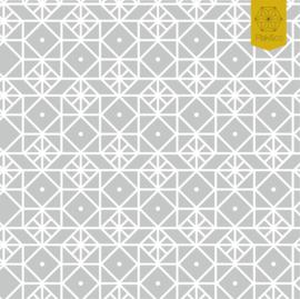 Raamfolie Geometrische Vormen