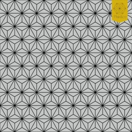 Raamfolie Japanse Driehoek