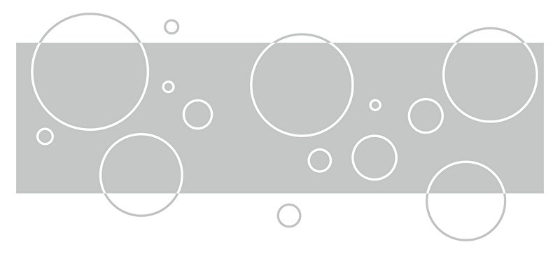 Raamfolie Cirkel