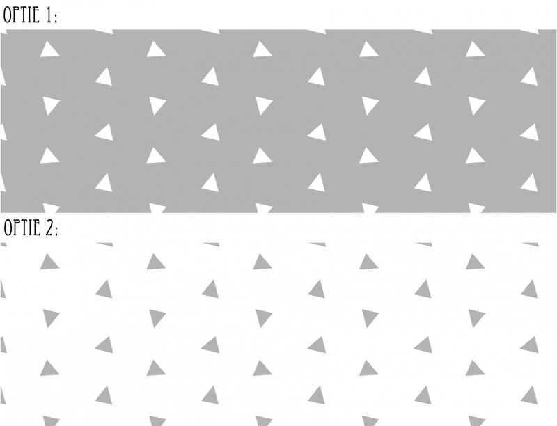 Raamfolie Driehoek 2