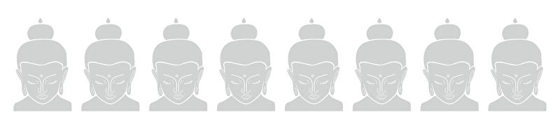 Raamfolie Boeddha