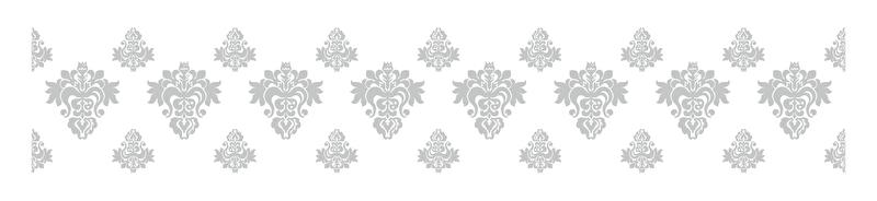 Raamfolie Barok Bloemen