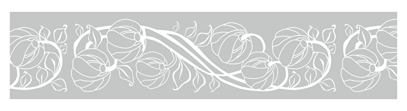 Raamfolie Art Nouveau