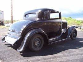 project ford three window coupe 1932