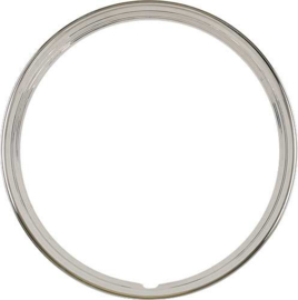 """Ford Truck and passenger Wheel Trim Ring, 15"""", Ribbed"""