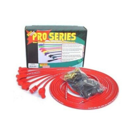 Taylor 70250 8mm Spark Plug Wires, Wire Core, 90 Degree, Red
