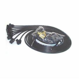 Taylor 70051 8mm Spark Plug Wires, 90 Deg, Resistor Core, Black
