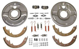 Hydraulic Brake Front Backing Plates - Front - For 1-3/4 Drum - Ford - 12 x 1-3/4 Inc