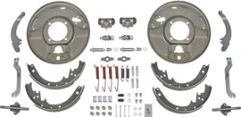 Hydraulic Brake Front Backing Plates  -Rear -E Brakes for 1937-48 Ford Rear, 12 x 1-3/4 Inch