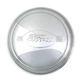 Hubcap, Passenger Car, Stainless Steel 8 1/4 Ford