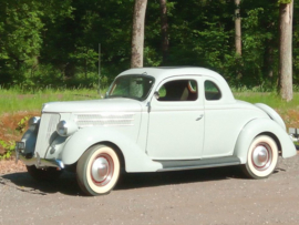 Ford 1936 five window coupe ( VERKOCHT )