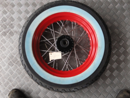 front wheel old skool 16 inch white wall