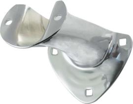 Model A Ford Tail Light Bracket - Chrome Plated - Left