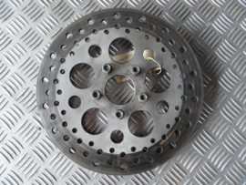 disc 11,5 inch stainless steel drilled