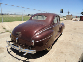 FORD COUPE FIVE WINDOW DE LUXE 1941 ( SOLD )