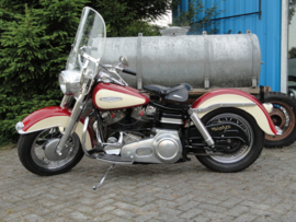 HARLEY DAVIDSON  early shovel 1968 ( verkocht )