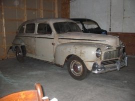 mercury sedan 1947 ( SOLD )